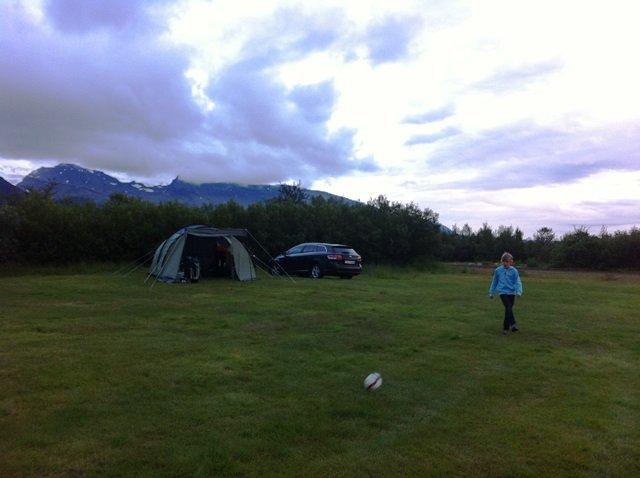 camping Skaftafell Iceland