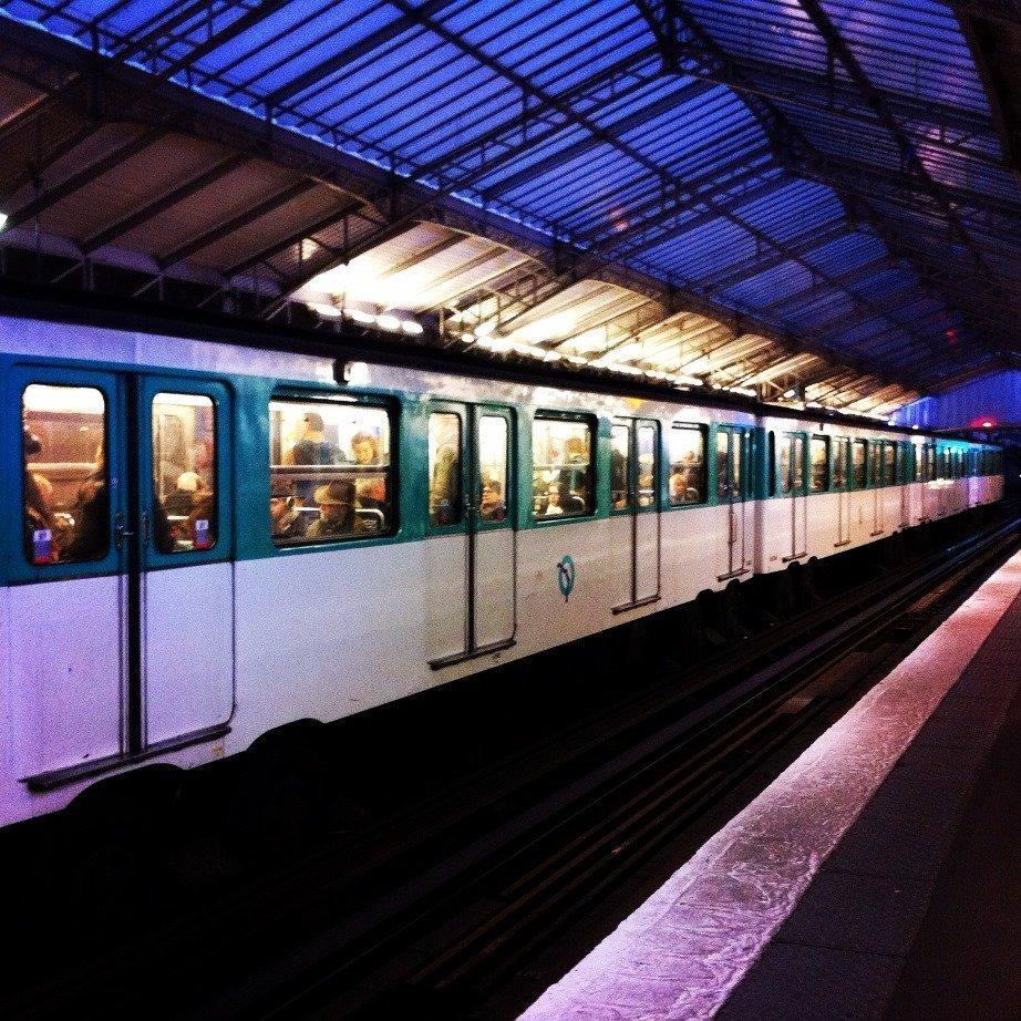 Passy metro station Paris