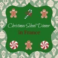 School Christmas Dinner France