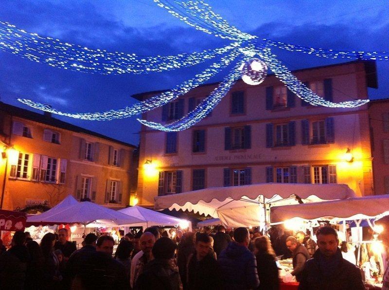 Valbonne christmas market