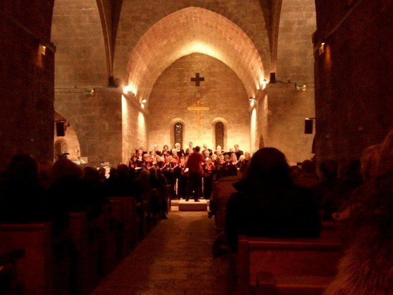 carol concert Riviera Singers Valbonne