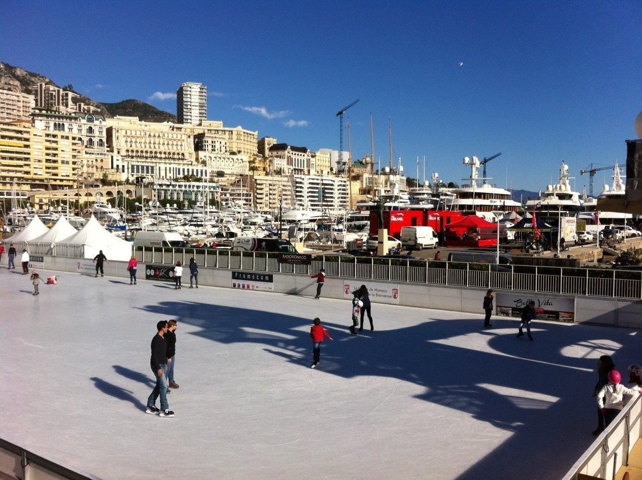 Monaco skating