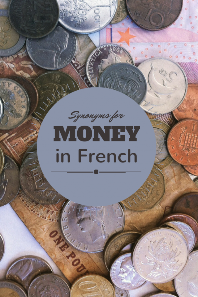words for money in French