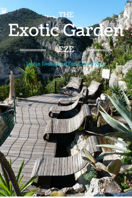 exotic gardens of Eze Côte d'Azur France