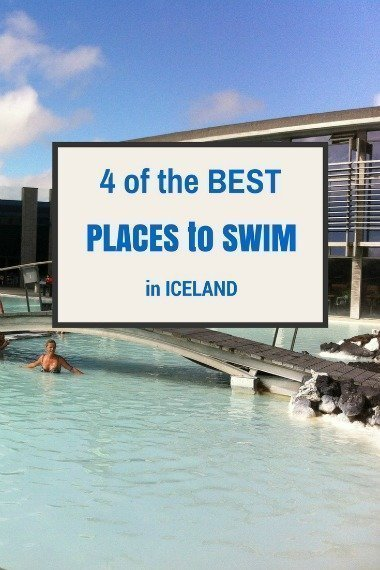 4 of the BEST swim spots in Iceland