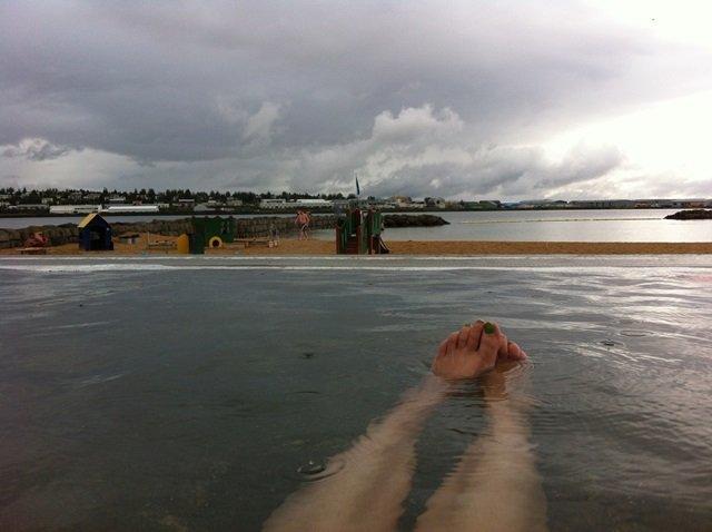 Nautholsvik geothermal beach Iceland