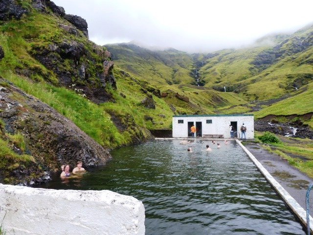 Seljavallalaug pool in Iceland