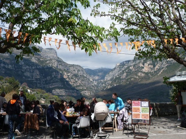 snackbar with a view Bar sur Loup