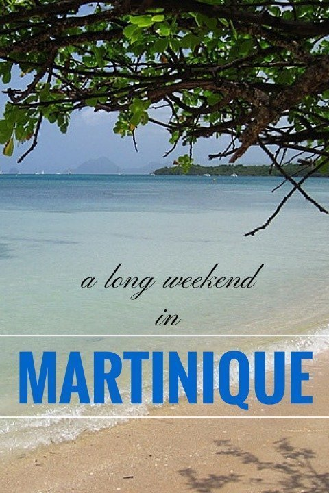 visiting Martinique France in the Caribbean