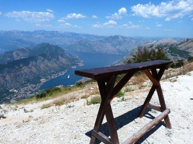 Lovcen road unusual picnic bar