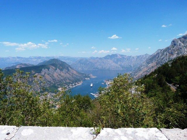 Lovcen road Montenegro