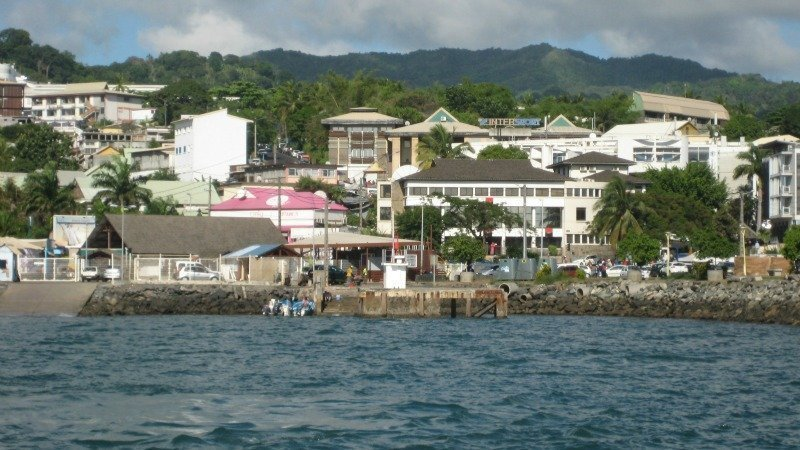 Mamoudzou the capital of Mayotte