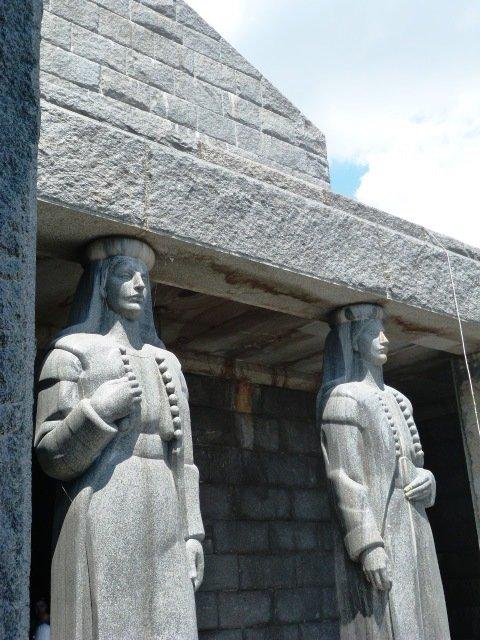 Njegos mausoleum doorway