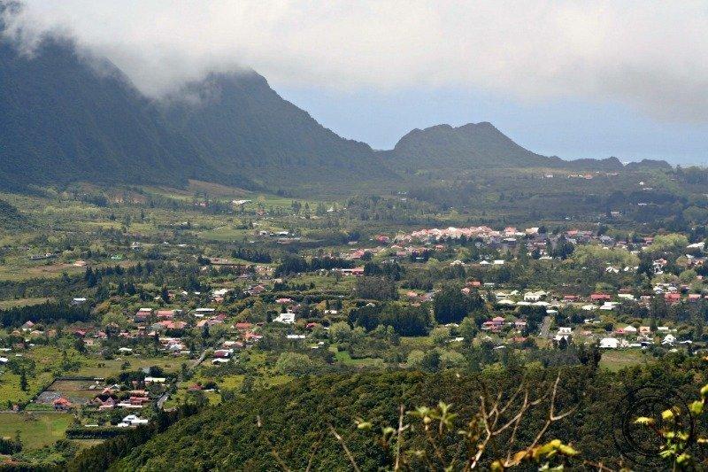 Reunion island town