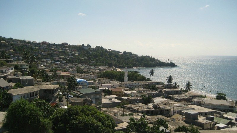 Sada second largest town in Mayotte