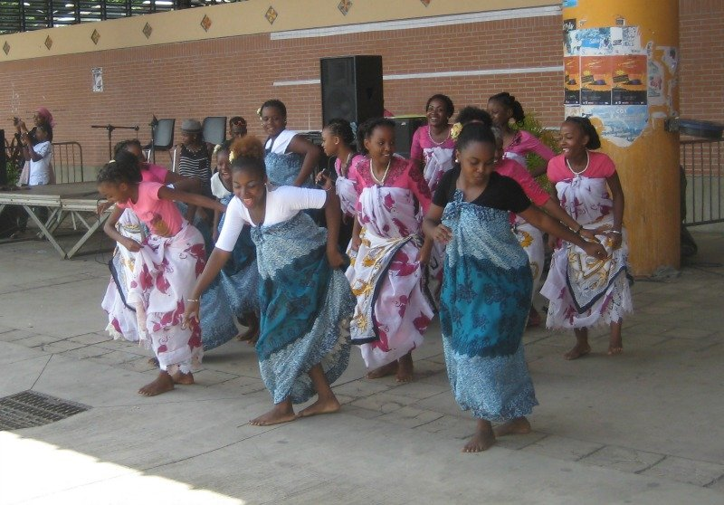 Traditional dance in Mayotte