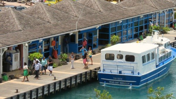 Anguilla St Martin inter island ferry
