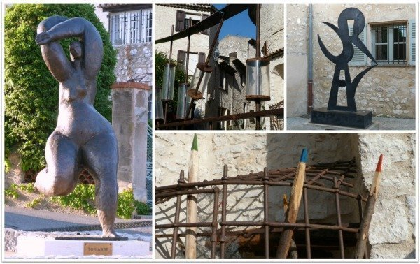 art in St Paul de Vence