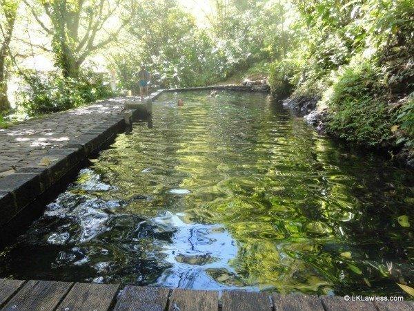 bains pres de la soufriere Guadeloupe