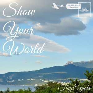 show your world badge