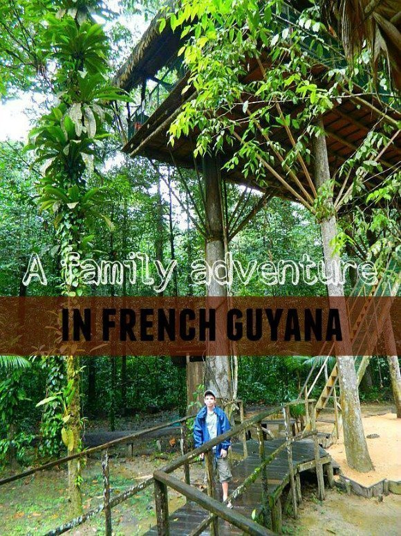French Guyana family adventure