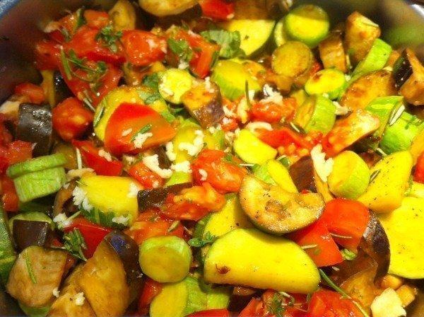 ratatouille cooking