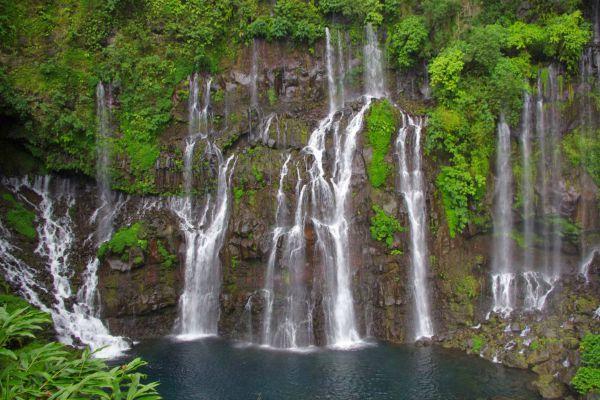 Reunion island Anse les Cascades