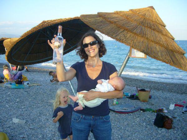 apero at Villeneuve Loubet beach
