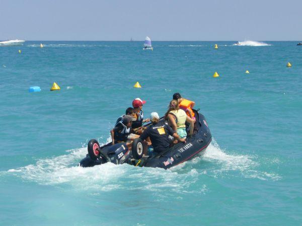 boat hire on Villeneuve Loubet beach