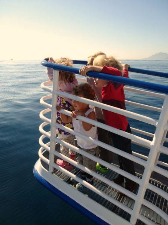 ferry to ile Ste Marguerite
