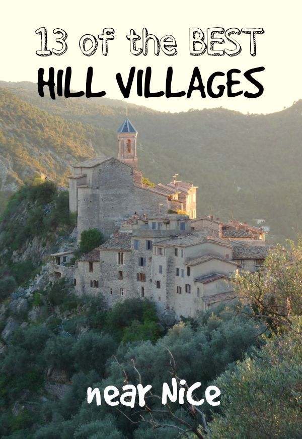 13 best hill villages near Nice France