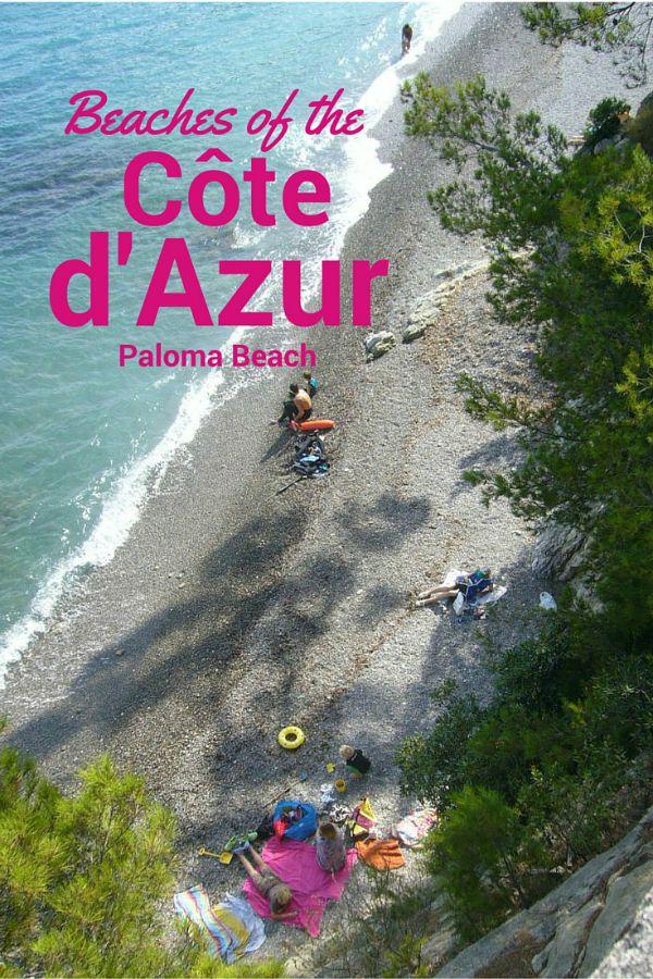 Paloma beach St Jean Cap Ferrat French Riviera