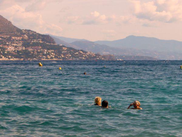 Paloma beach swimming