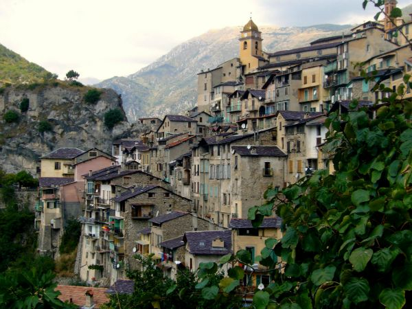 Saorge hill village Alpes Maritimes France