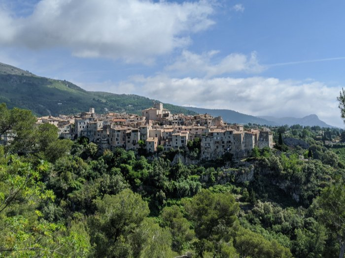 best hill villages near NIce | Lou Messugo