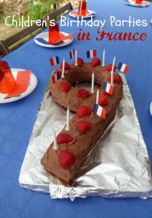 birthday party in France
