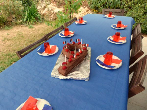 french birthday party