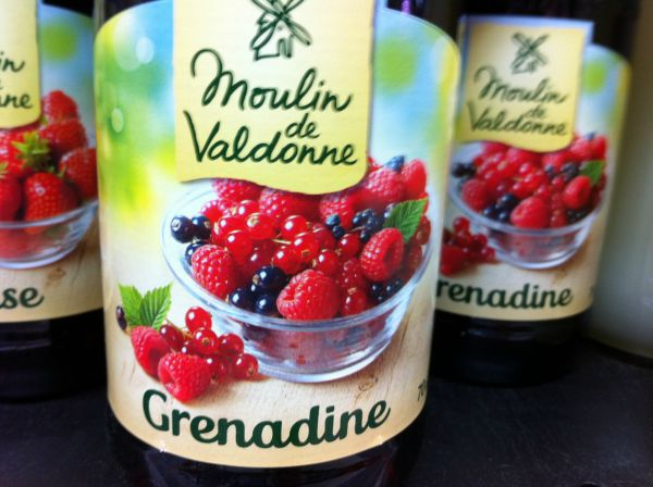 grenadine drink