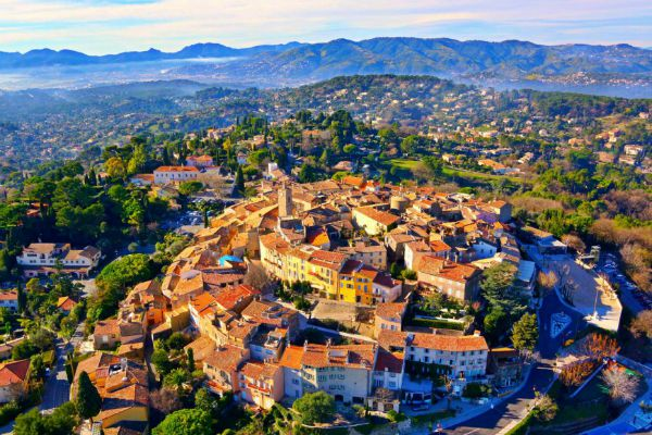 mougins village near cannes in france