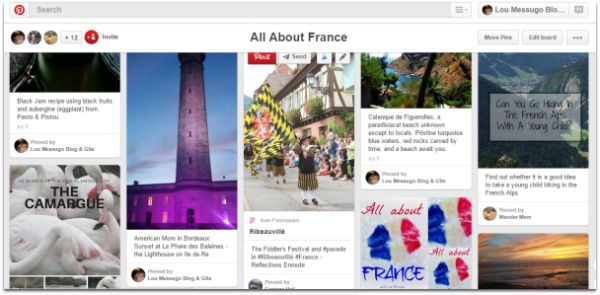 All About France with Lou Messugo on Pinterest