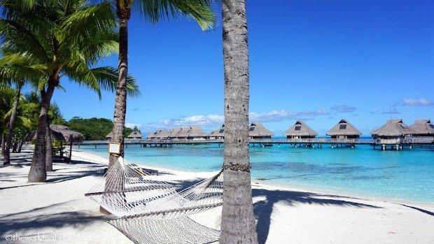 Hilton hammock Bora Bora