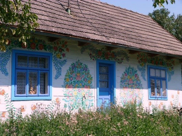 Zalipie, Poland's painted village