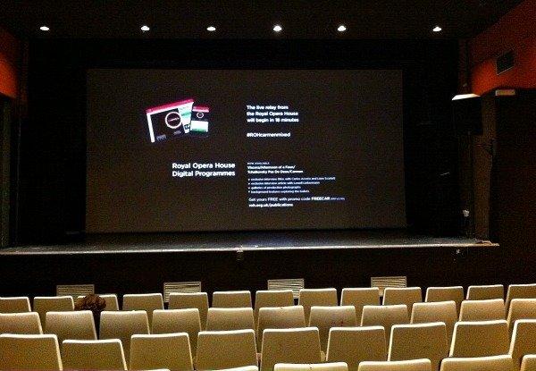 CIV cinema waiting for ballet