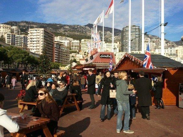 Christmas market Monaco