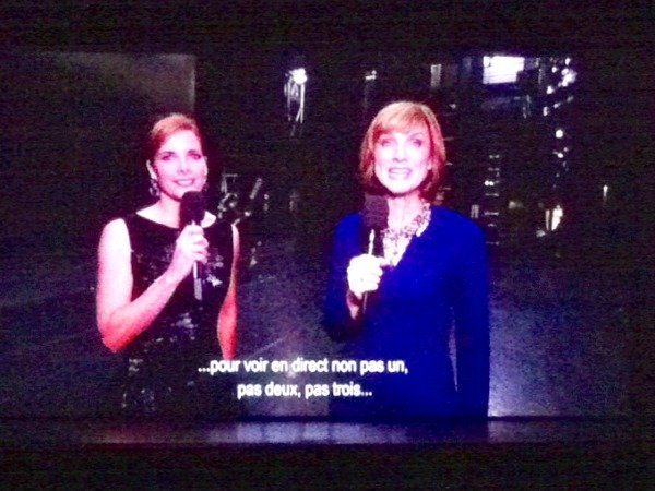 Darcey Bussell and Fiona Bruce at ROH