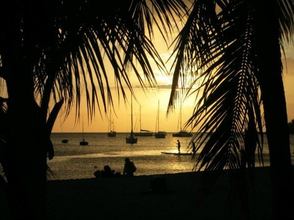 Guadeloupe sunset