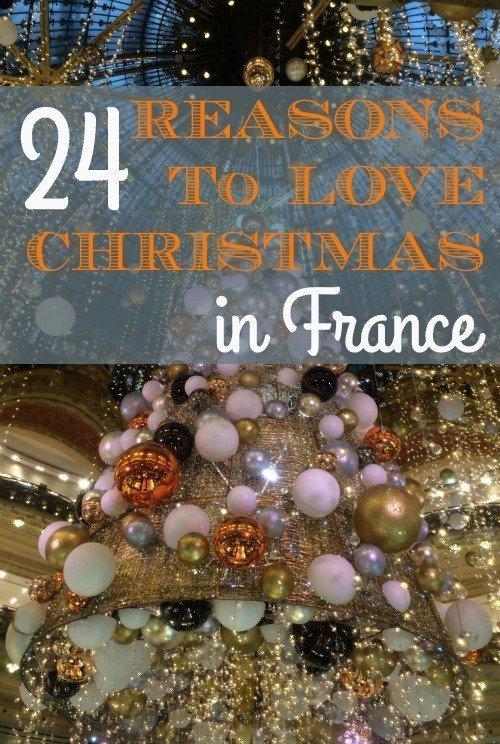 24 reasons to love Christmas in France