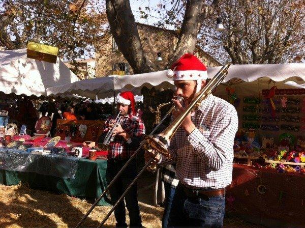 Christmas market Le Rouret Alpes Maritimes France