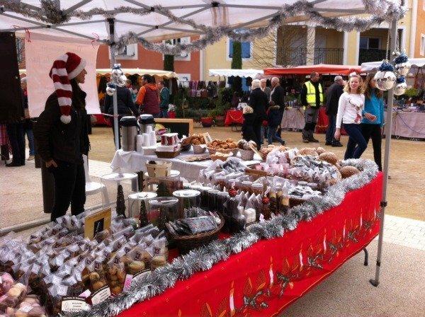 Christmas market Roquefort les Pins