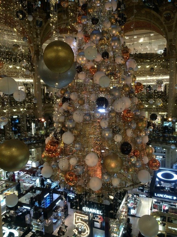 Galeries Lafayette Christmas Simply Sara Travels